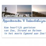 Grafisch ontwerp egmondzee.nl advertentie en borden