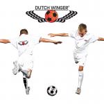 Logo op t-shirt dutch winger