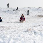 Winterse Halve Maan Egmond aan Zee noordduinen