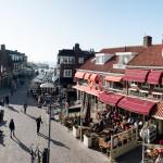 Straatfotografie Pompplein Egmond aan Zee