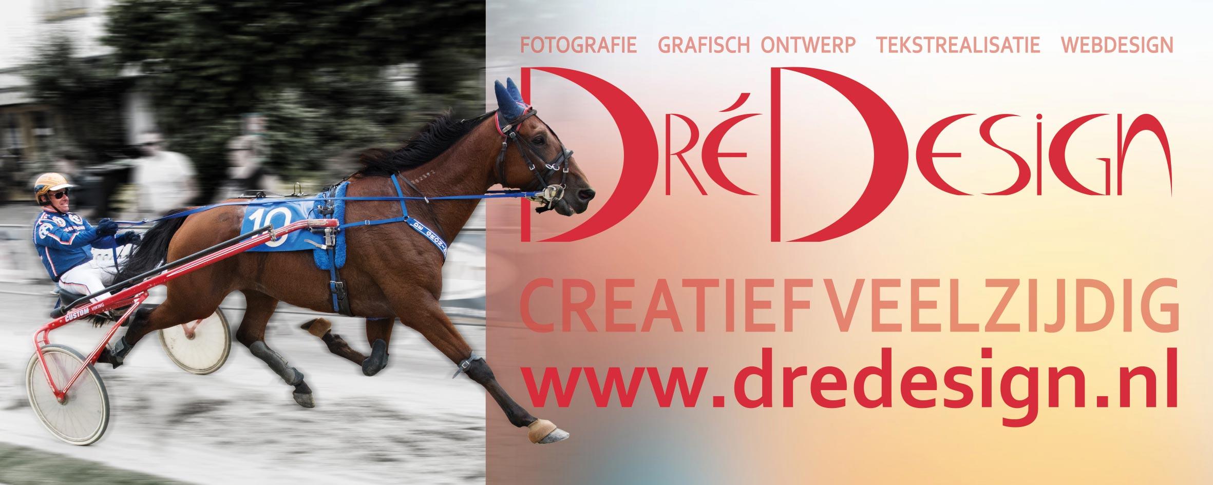 Dré Design Sponsorbanner Kortebaan Egmond