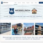 Wesselingh Installaties webdesign 2017