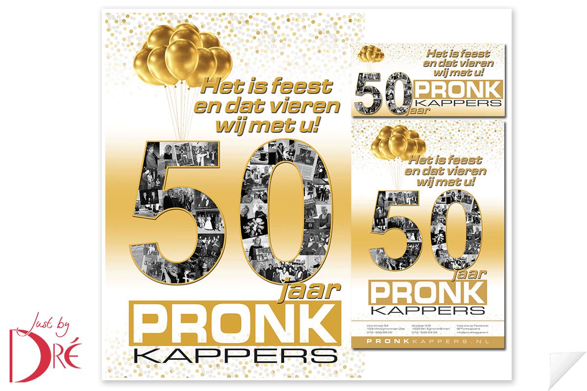 Pronk Kappers banners en advertenties