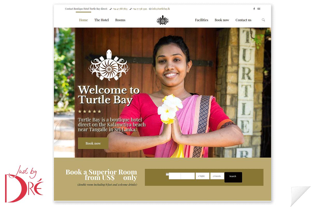 Website Turtle Bay