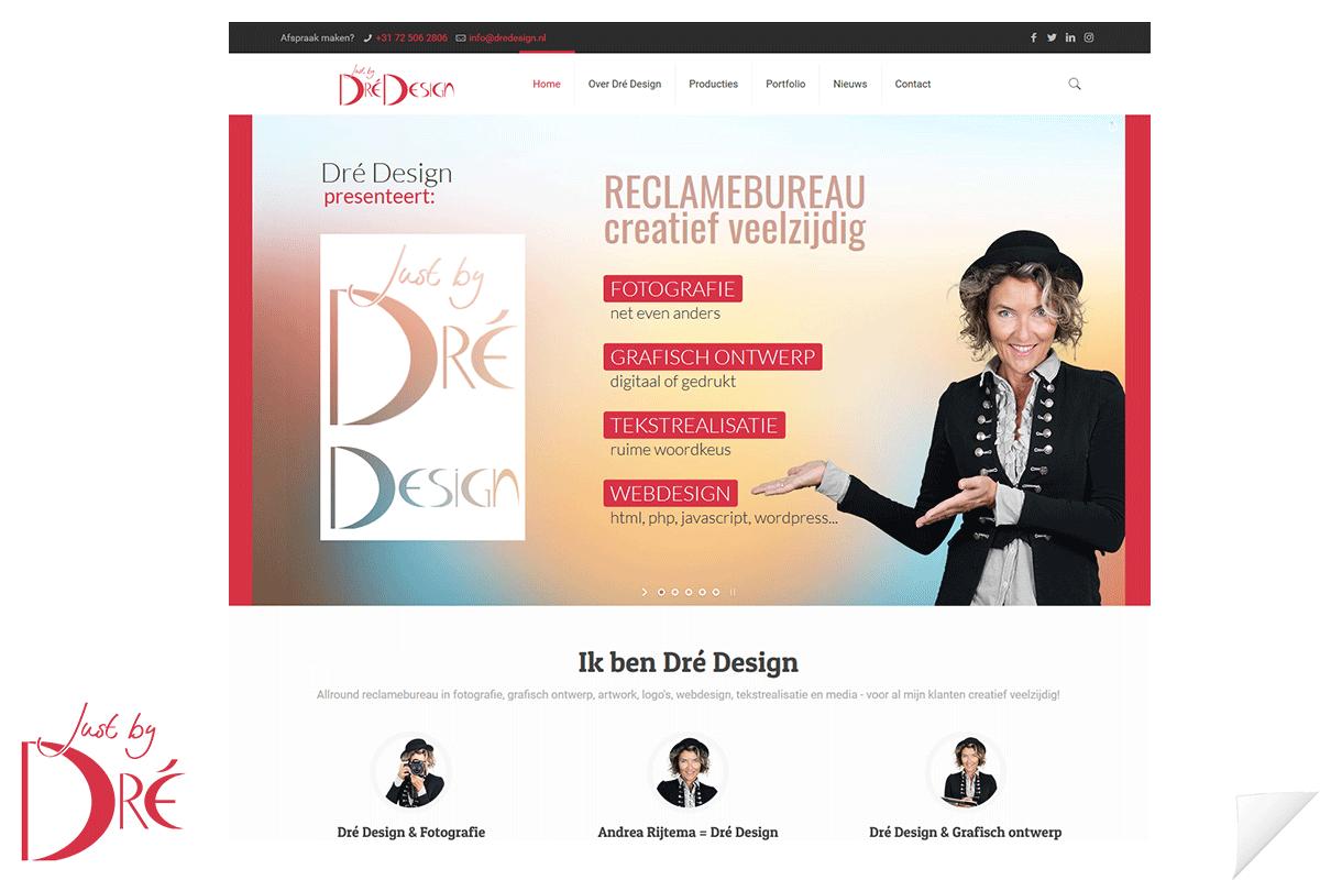 Website Dré Design